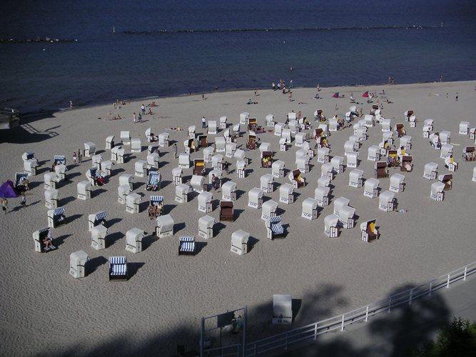 Strandkörbe in Sellin