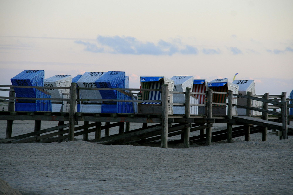 Strandkörbe in St.Peter-Ording
