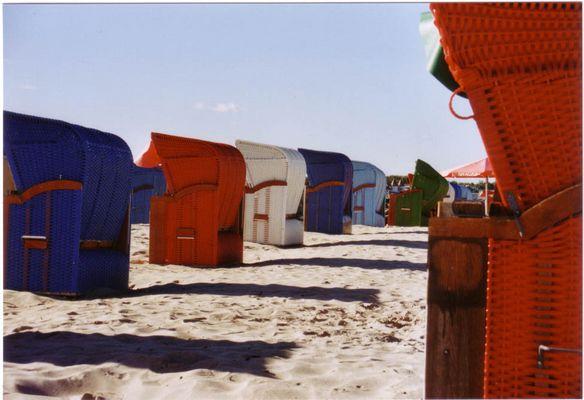 Strandkörbe in Warnemünde