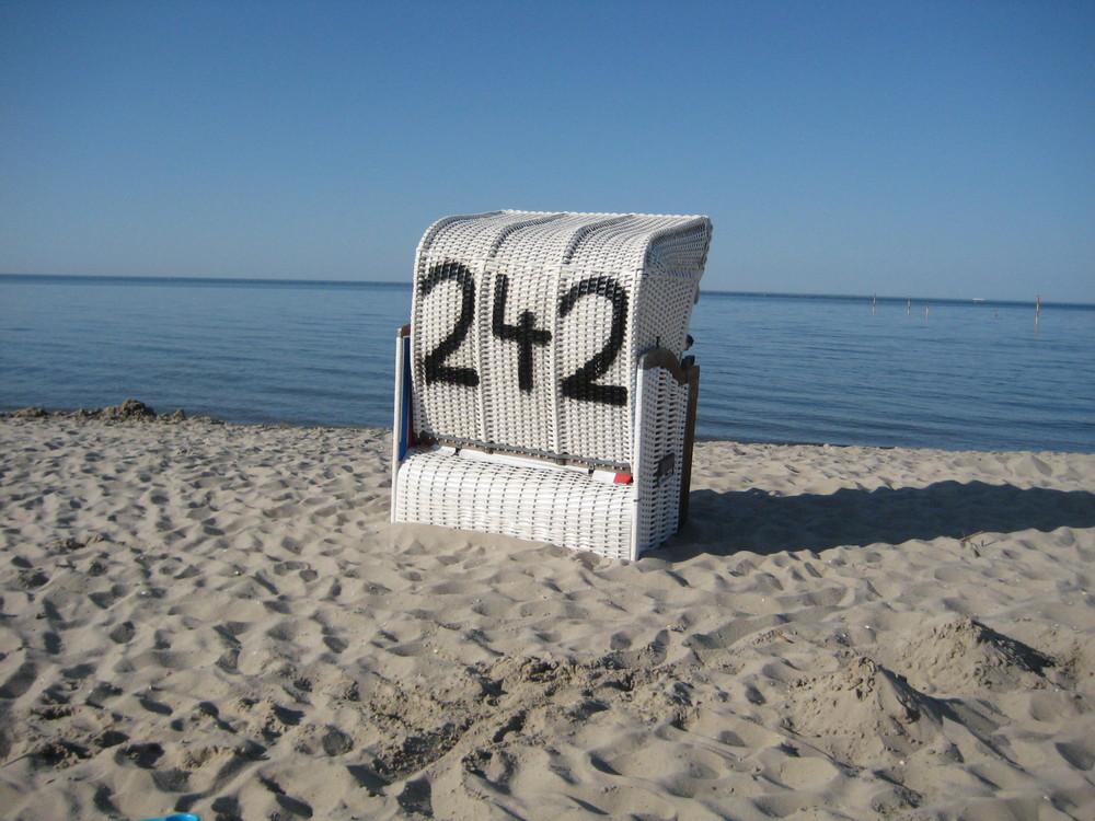 Strandkorb 242