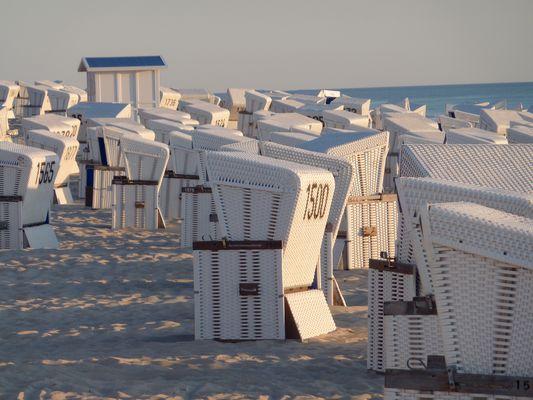 Strandkorb Meer Sylt