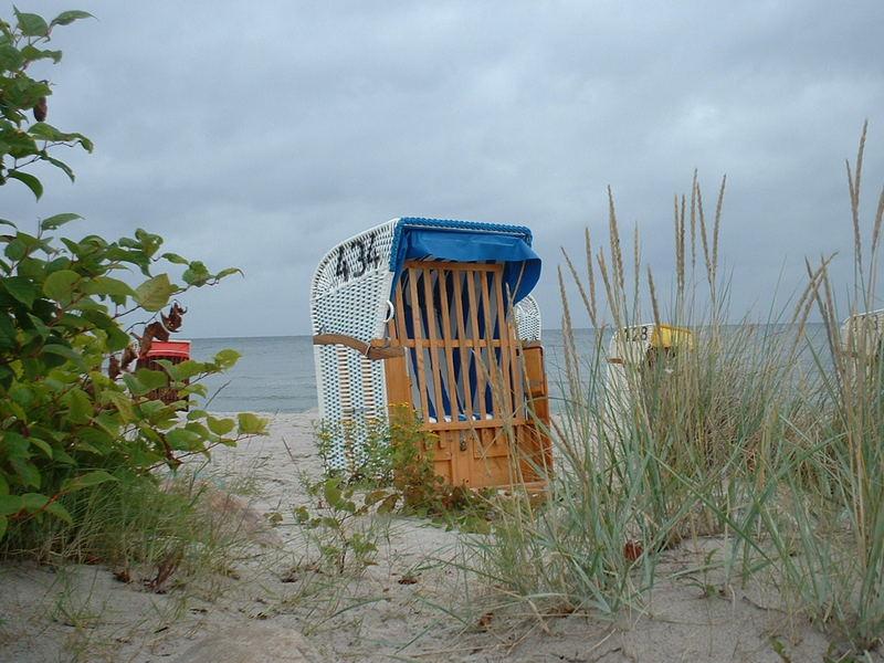 Strandkorbidylle an der Ostsee...