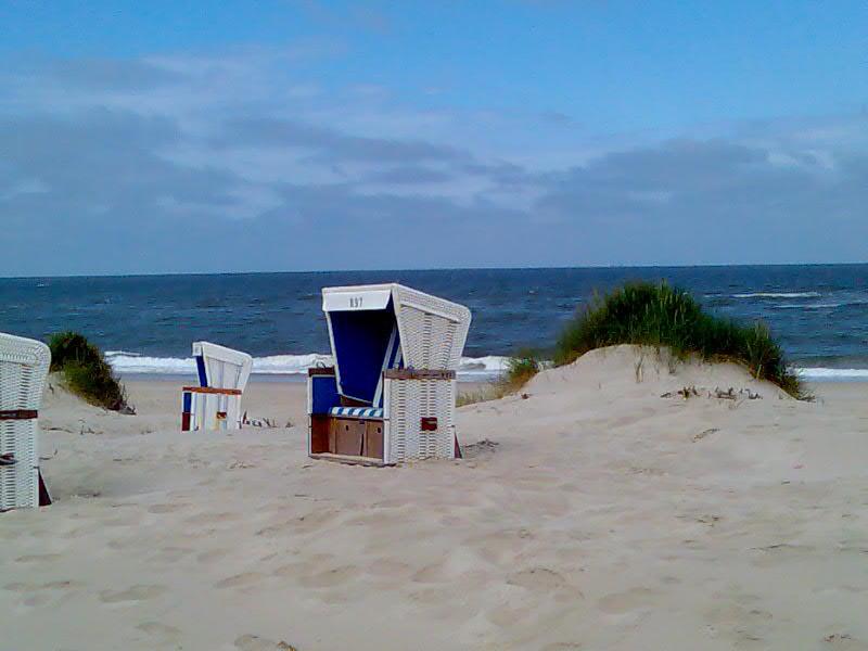 Strandkorbidylle Westerland/Sylt