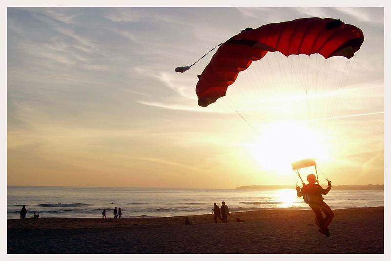 Strandlandung Alvor/Portugal Sunset
