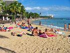 Strandleben am Nachmittag