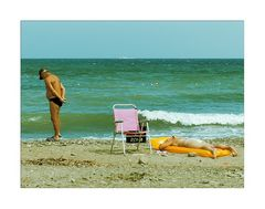 Strandleben eben ...