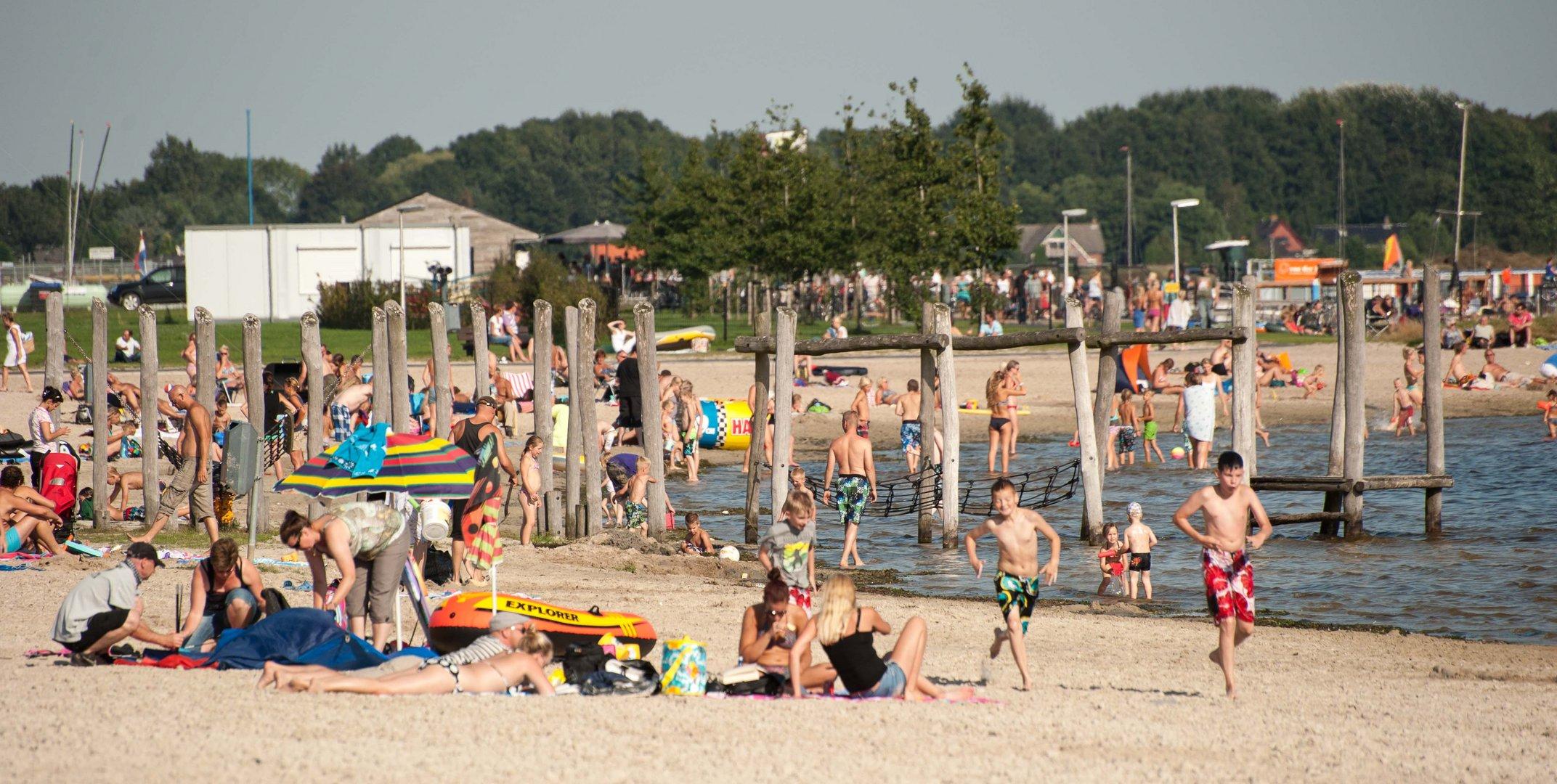 Strandleben im September 1