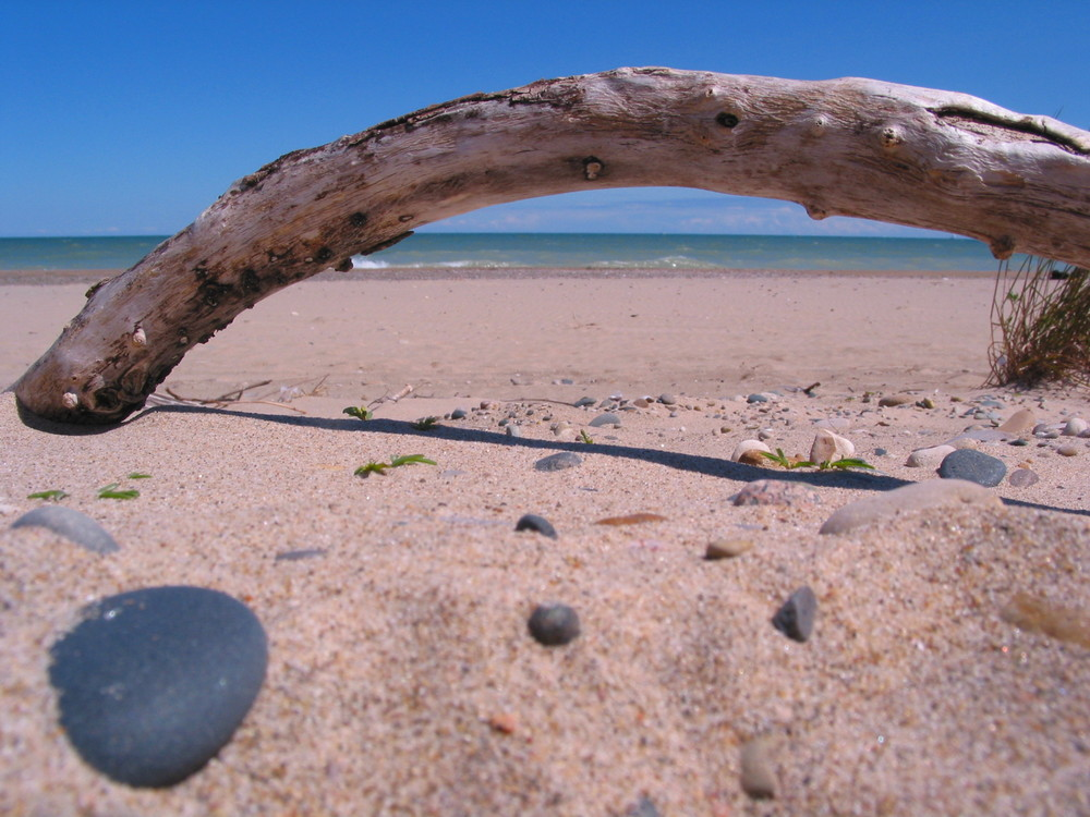 Strandperspektive
