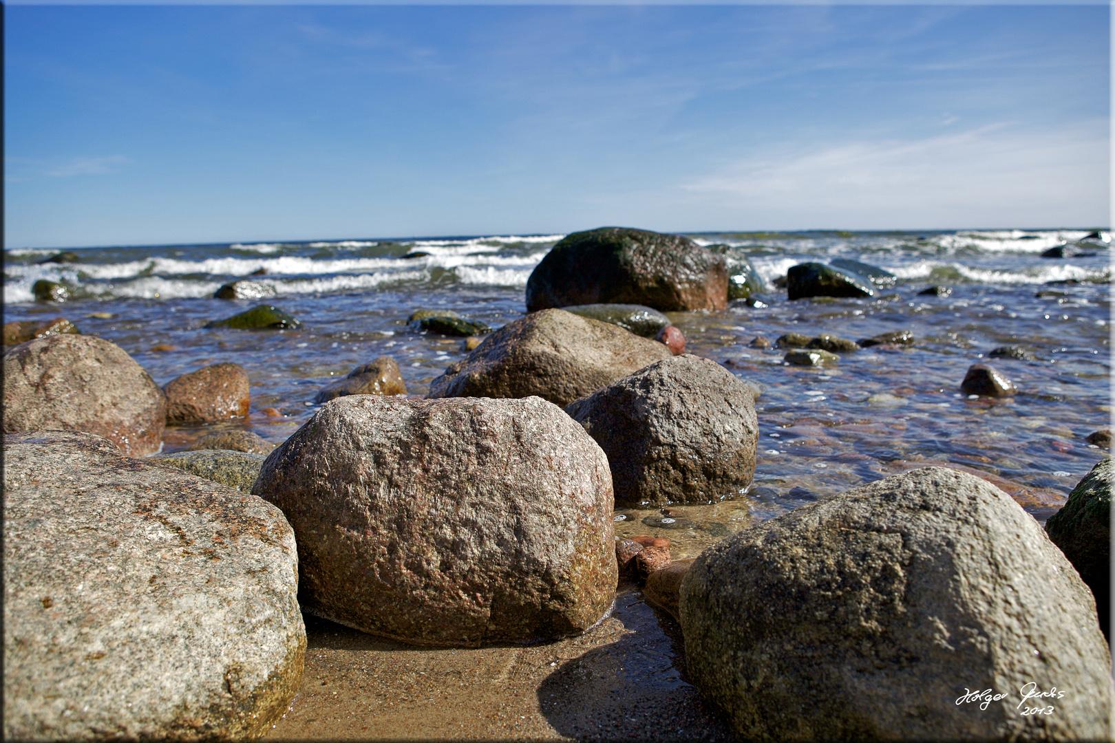 Strandperspektive Rügen 2
