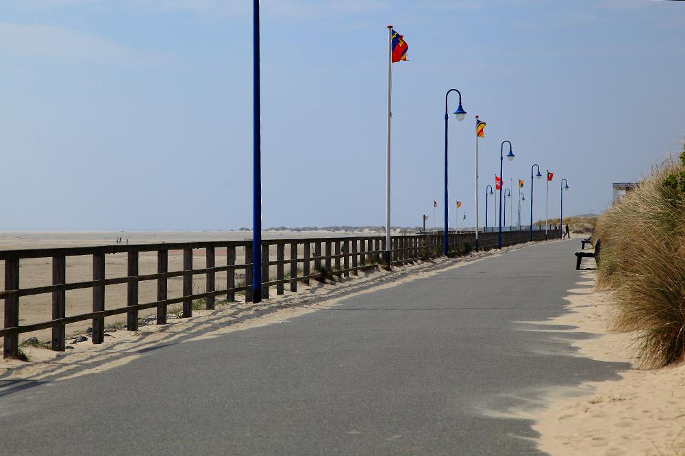 Strandpromenade in Wittdün