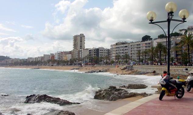 Strandpromenade Lloret