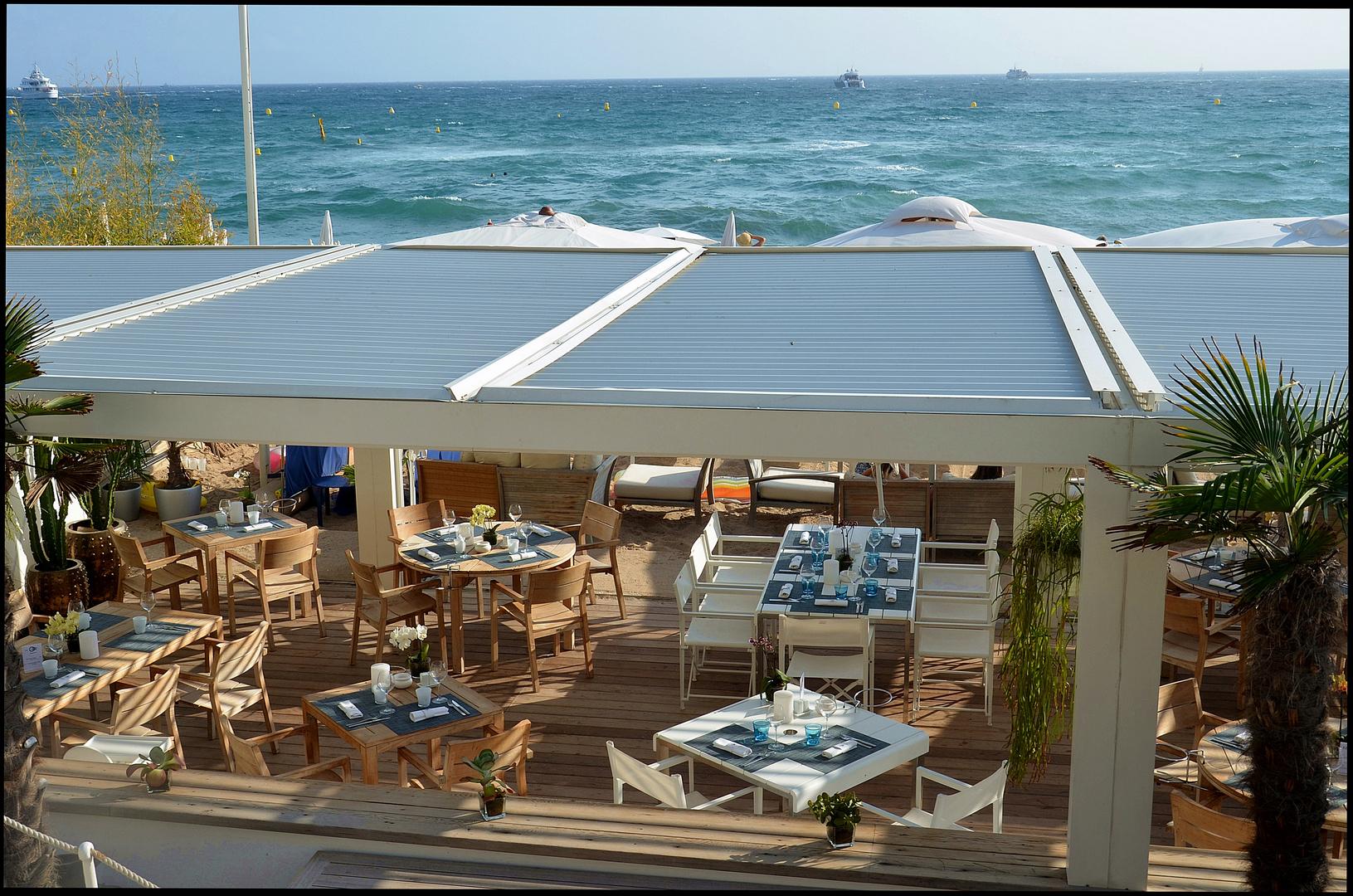Strandrestaurant in cannes 2