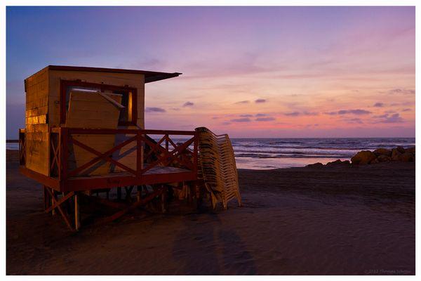 Strandruhe in Bocagrande..