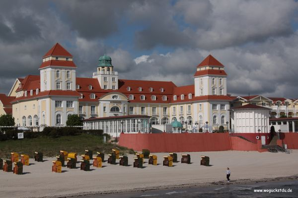 Strandschloss Binz (auf Rügen)