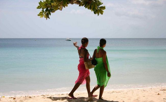 Strandschönheiten auf den Seychellen
