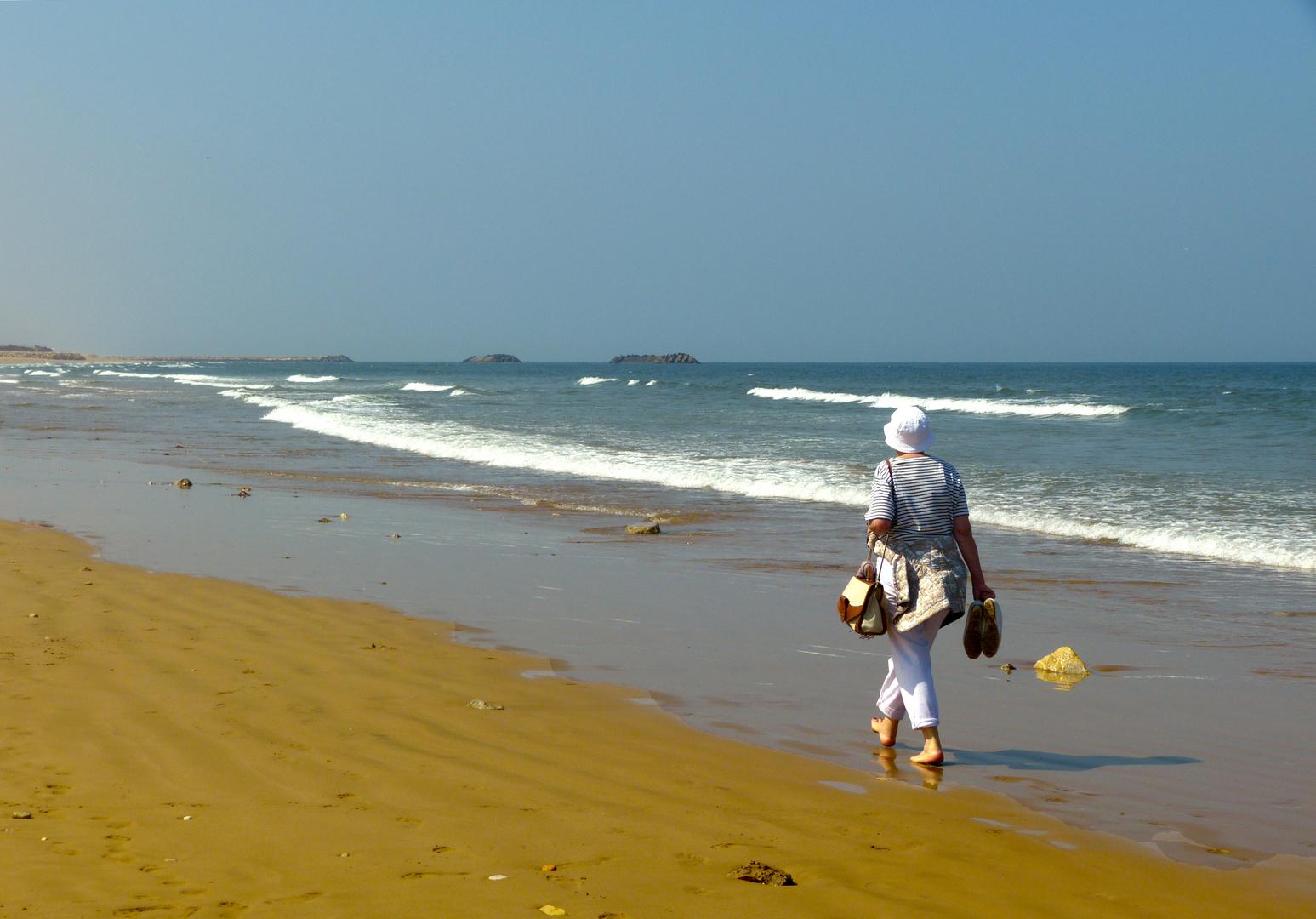 Strandspaziergang in Agadir