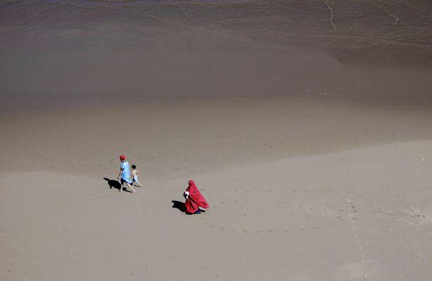 Strandspaziergang in Marokko