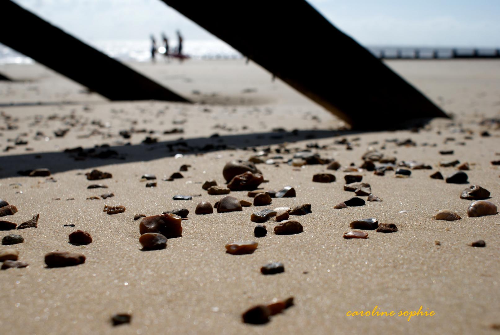 Strandsteine.