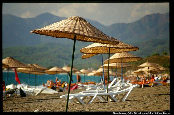 Strandszene, Çalis, Türkei 2002
