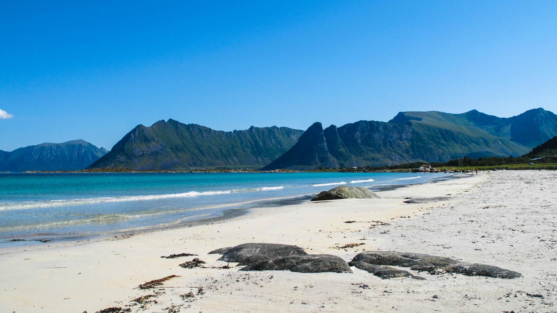 Strandwetter.........wenn nur das Wasser nichtr so kalt wäre