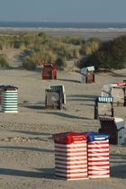 Strandzelte auf Borkum