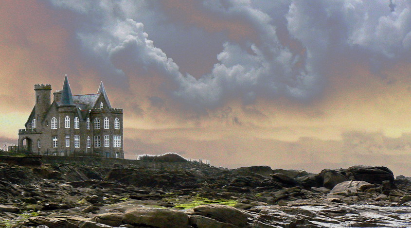 Strange castle