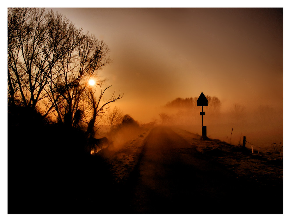 Strani effetti della nebbia...
