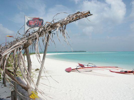 Stranidylle auf den Malediven