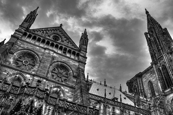 Strasbourg nach Gewitter