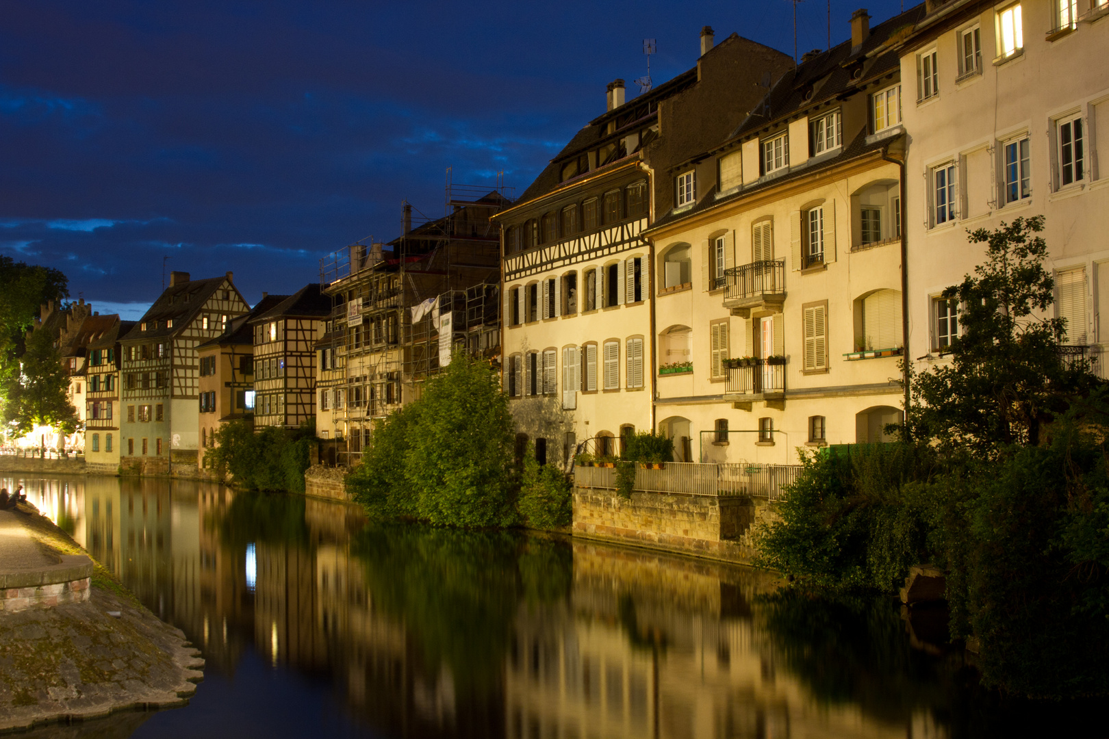 Strasbourg Nightview