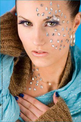 strass make-up