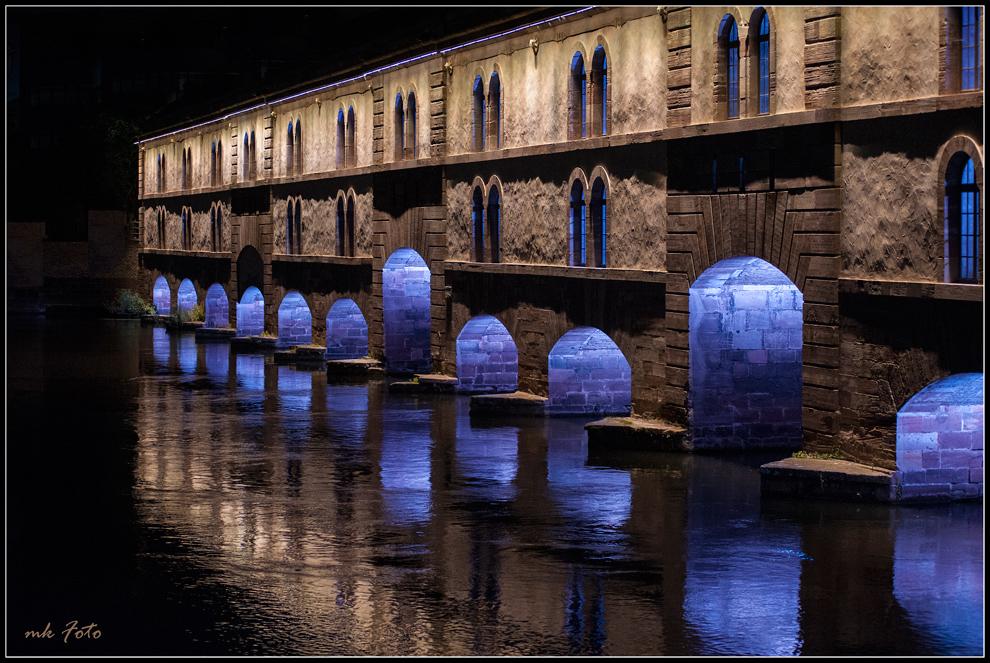 Strassburg bei Nacht