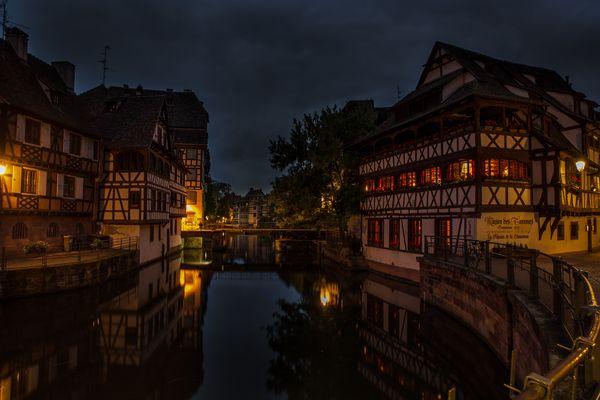 Straßburg Blaue Stunde