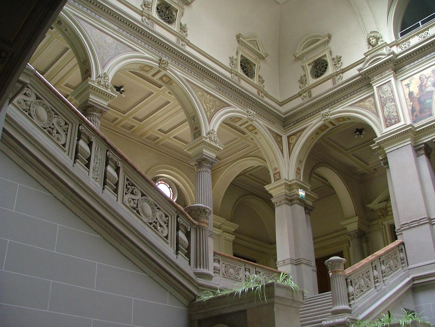 Straßburg: Palais du Rhin, Treppenhaus