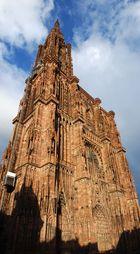 Strassburger Münster im Sonnenlicht