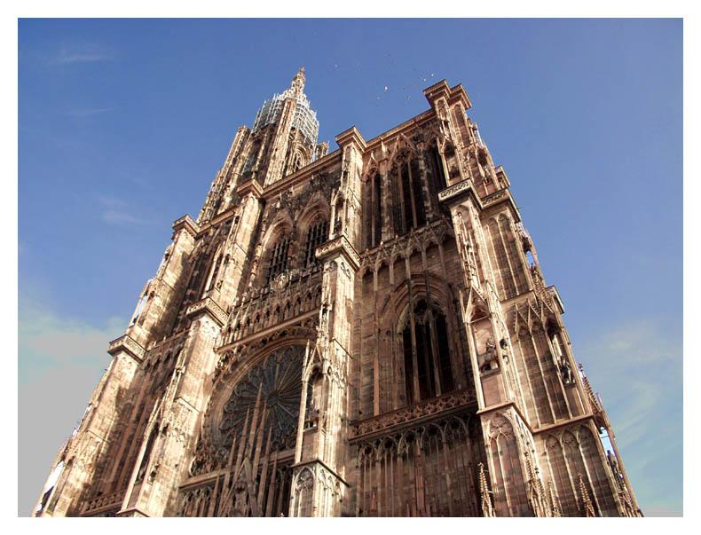 Straßburger Münster - Under Construction