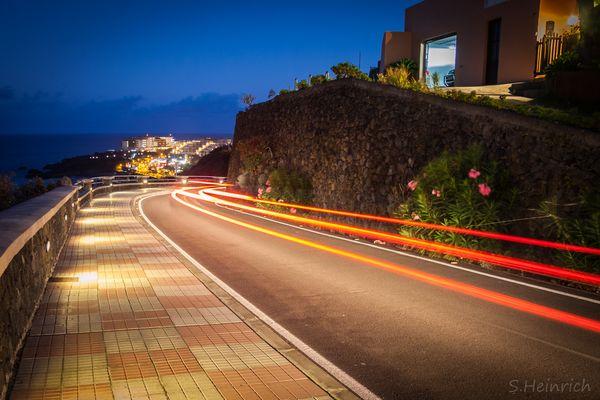 Straße auf La Palma