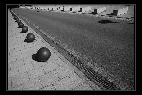 Straße der Geometrie