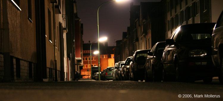 Straße der leeren Seelen