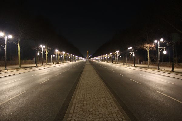 Straße des 17.Juni, leer