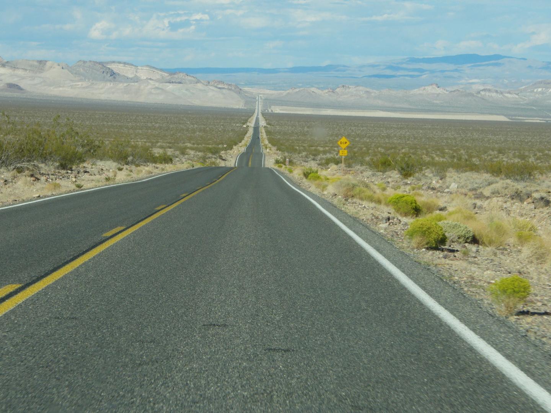 Straße im Deathvalley