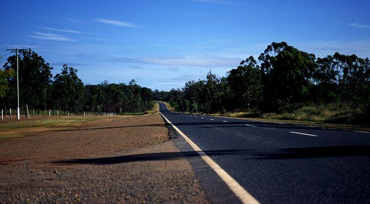 Strasse im Outback