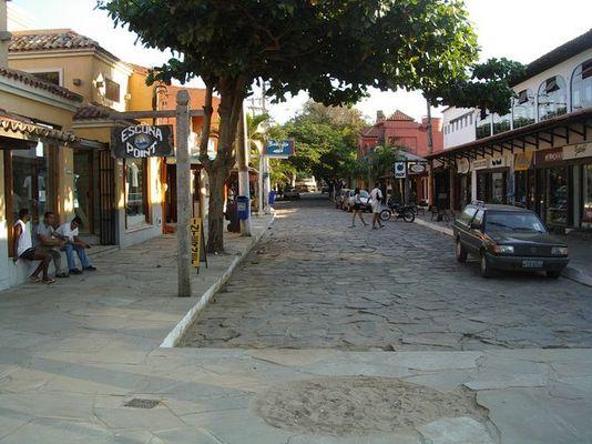 Straße in Buzios