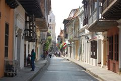 Strasse in Cartagena
