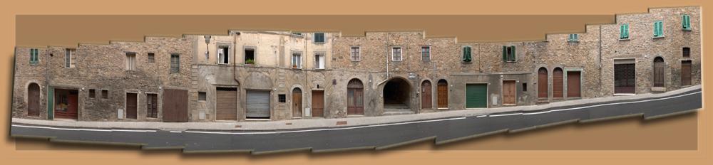 Strasse in Castelnuovo