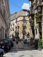 Straße in der Altstadt von Palermo
