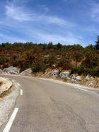 Straße in der Provence