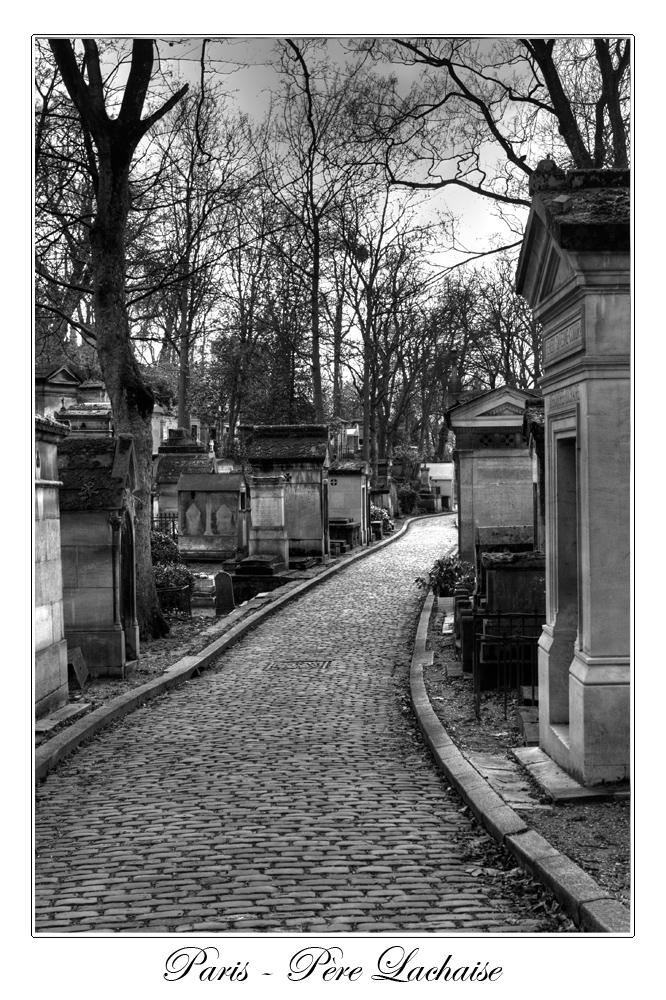 Straße in die Ewigkeit