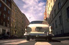 Straße in Helsinki