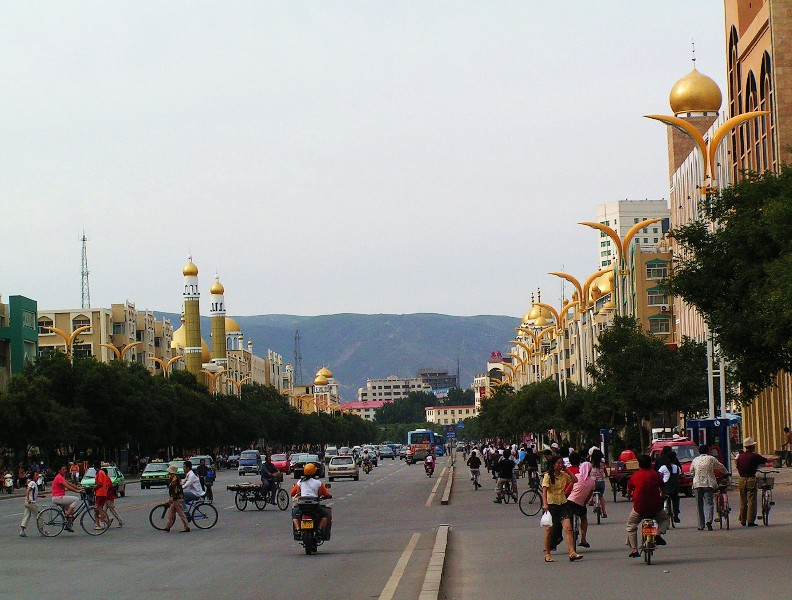 Strasse in Hohhot